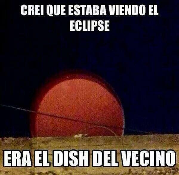 Imágenes graciosas eclipse