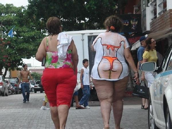 Imágenes graciosas en bikini