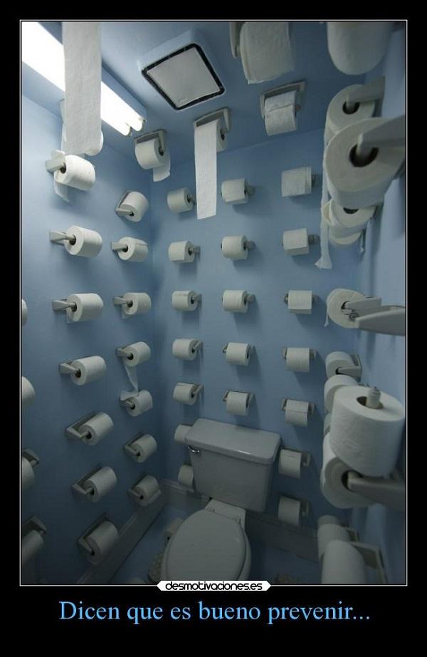 Imágenes graciosas en el baño