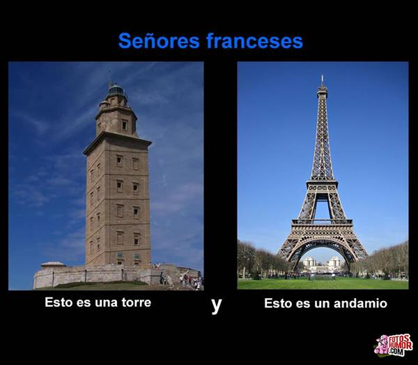 Imágenes graciosas en francés