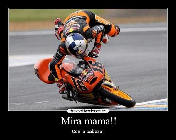 imágenes graciosas en moto