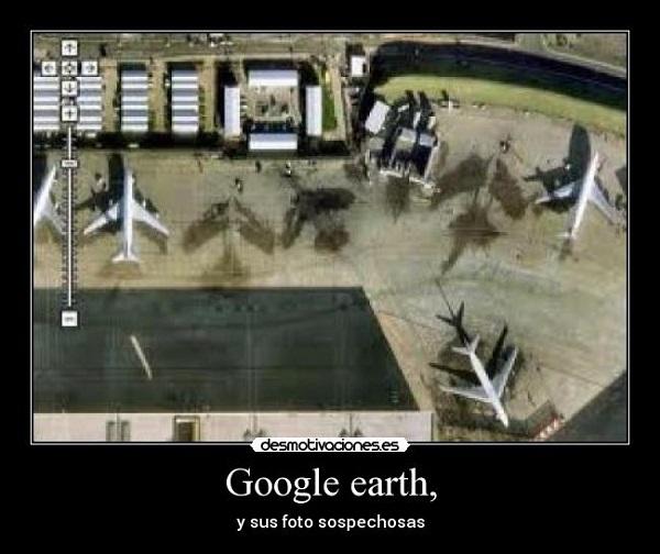Imágenes graciosas google earth