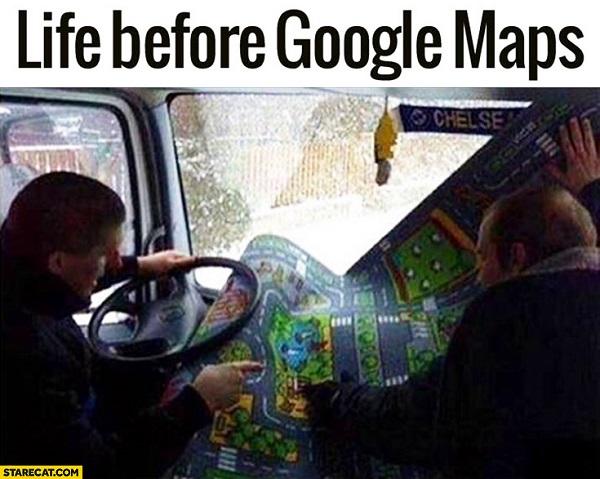 Imágenes graciosas google maps