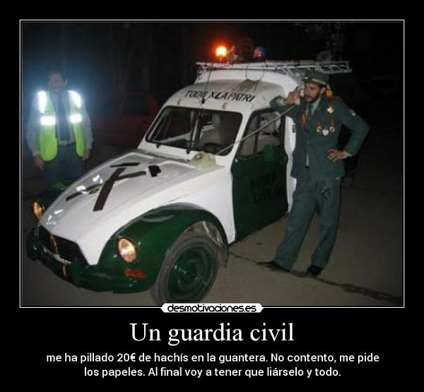 Imágenes graciosas guardia civil