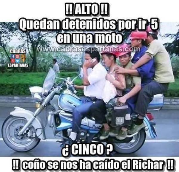 Imágenes graciosas motos