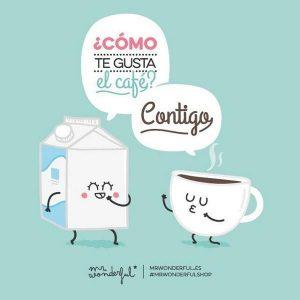 Imágenes graciosas tomando café
